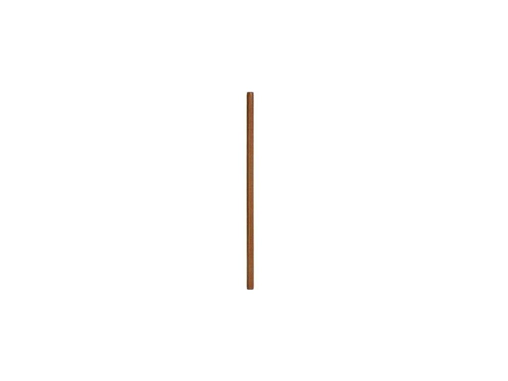 Jo - dřevěná hůl - tmavě hnědá - 128 cm - MAHAGON