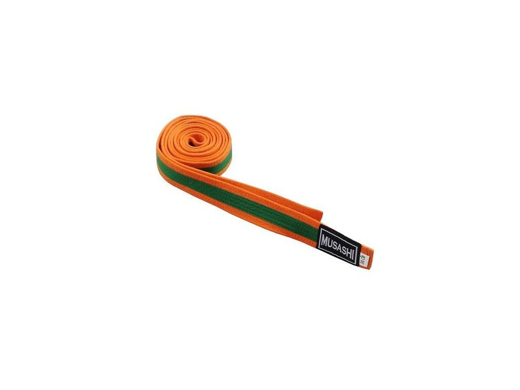 pasek zeleno oranzovy musashi novafotka