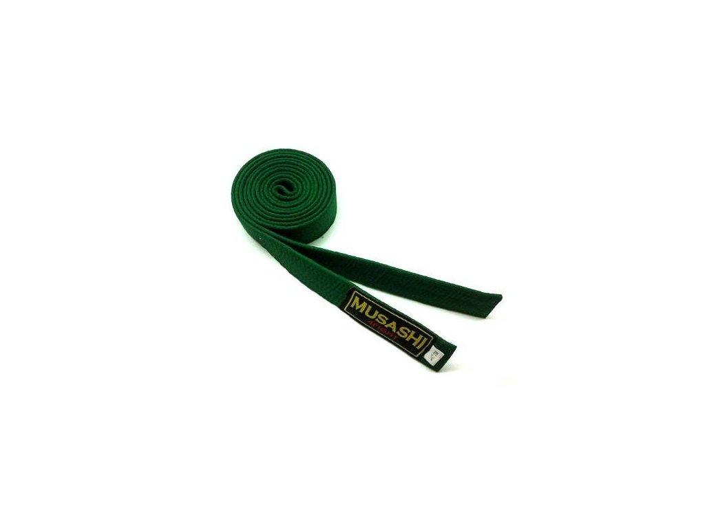 pasek na kimono zeleny