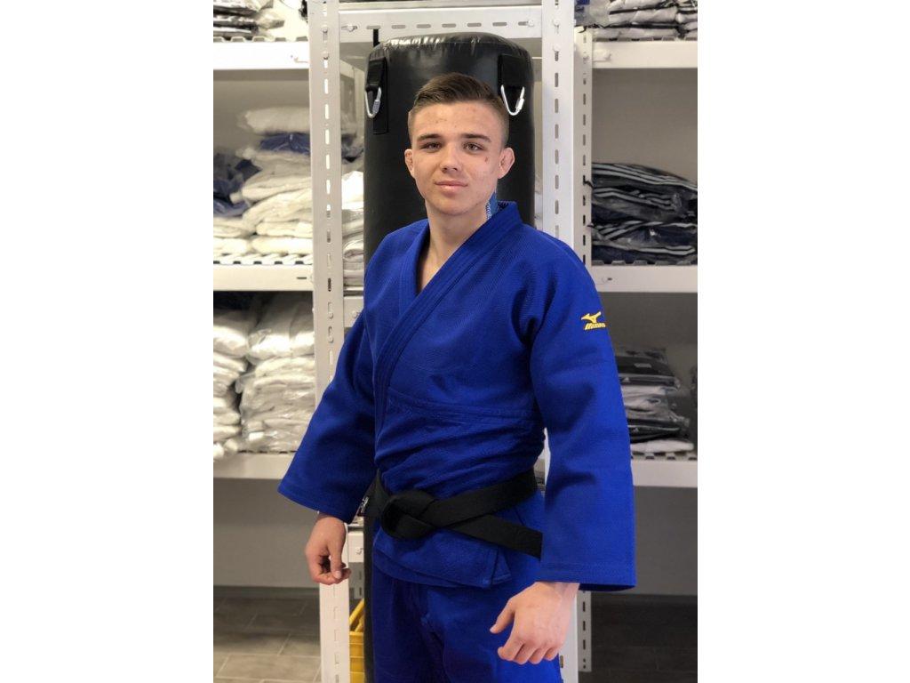 JUDO kimono MIZUNO YUSHO IJF - modré