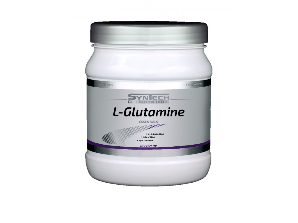 L Glutamine (lage resolutie, transparant) velka
