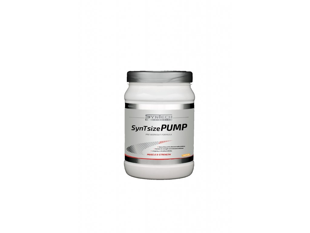 SynTsize Pump 600gr (transparant, tropical, lage resolutie)