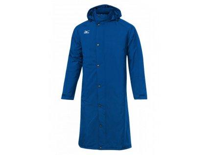 mizuno parka bench jacket blue unisex 720x720