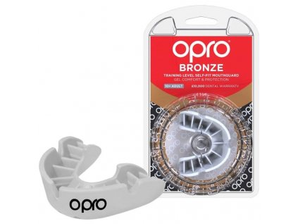 opro bronze self fit mouthguard 10 years to adult white 800x800