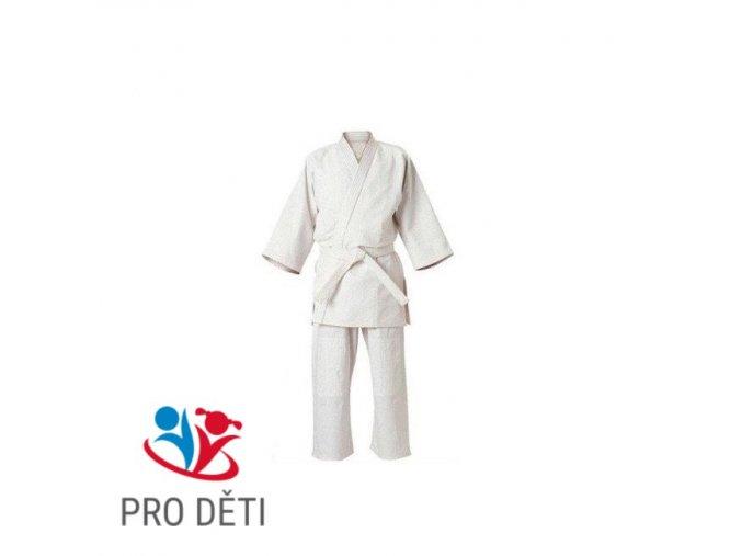 Kimono na JUDO MUSASHI judogi - bílé - DĚTSKÉ