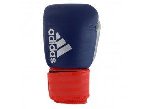 181126 box rukavice adidas hybrid 200 modre cervene strieborne