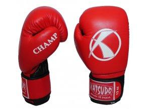 180704 box rukavice katsudo champ iv cervene