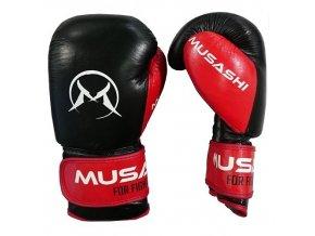 boxerske rukavice thai musashi