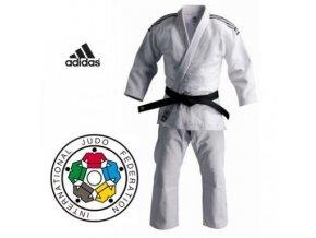Kimono na judo IJF ADIDAS CHAMPION II Regular - bílé