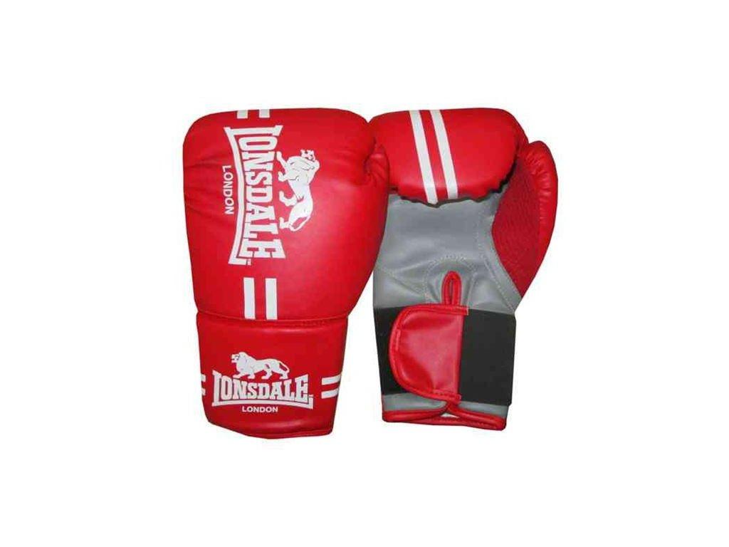 Dětské boxerské rukavice Lonsdale červené - FightStuff - vybavení ... c6c561dd32