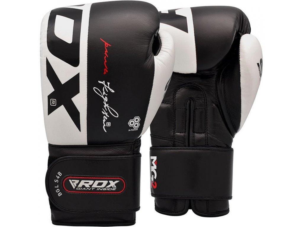 Boxerské rukavice S4 (bílá/černá)
