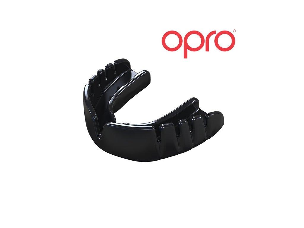 Chrániče zubů OPRO UFC Snap Fit senior (černé)