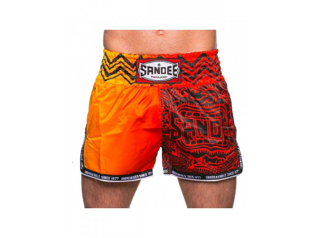 Thai trenky Sandee Warrior (červená/oranžová)