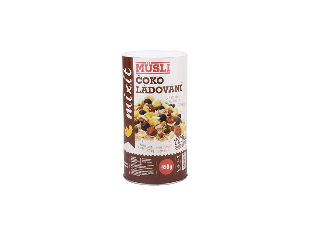 Čokoládování (musli s čokoládou) 450g