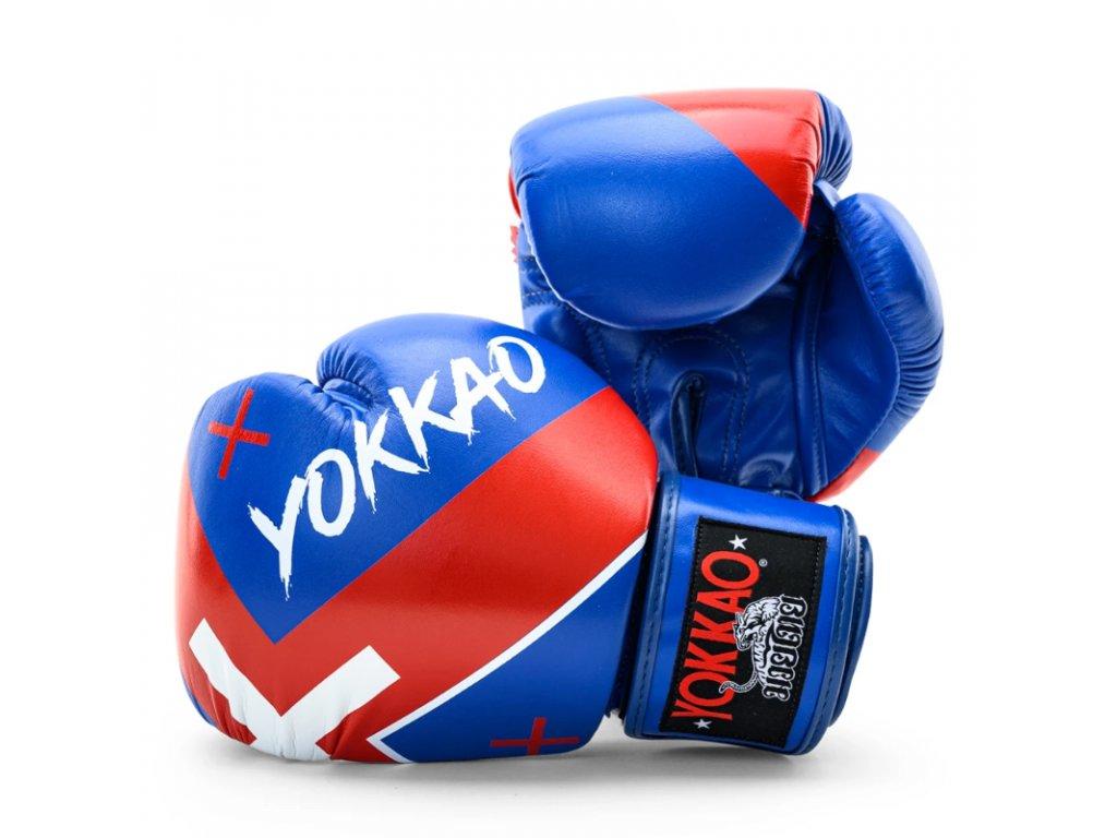 Boxerské rukavice Yokkao  (X-Blue)