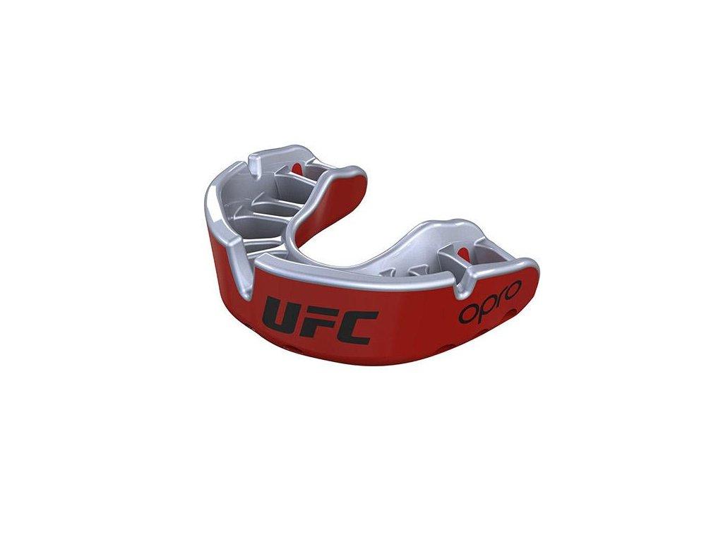 Chrániče zubů OPRO UFC  GOLD(červená/stříbrná)