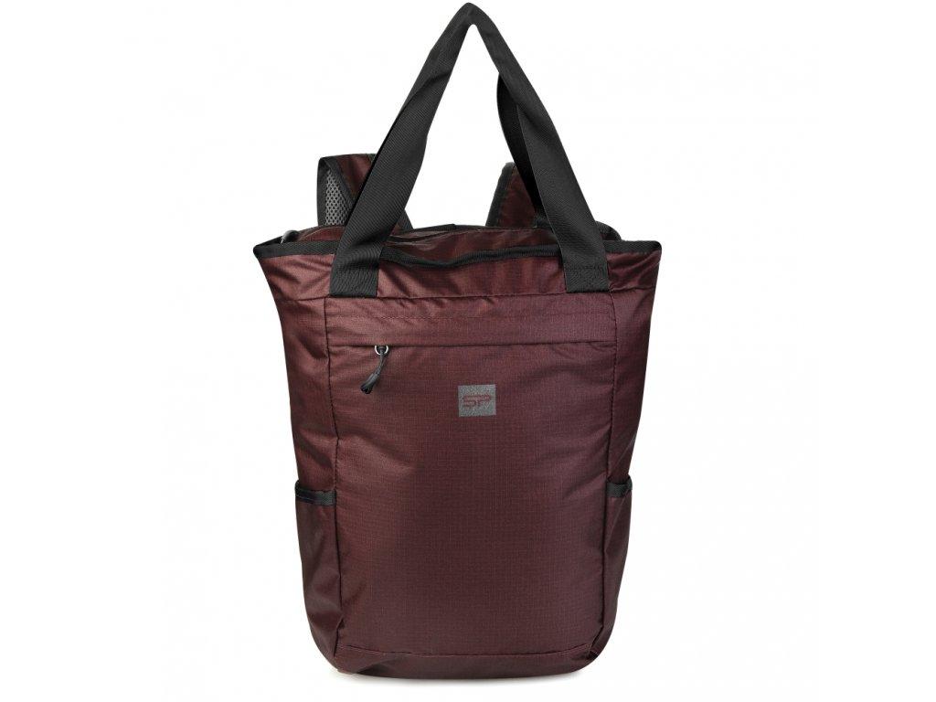 Spokey OSAKA Batoh a taška v jednom 20 l, červený