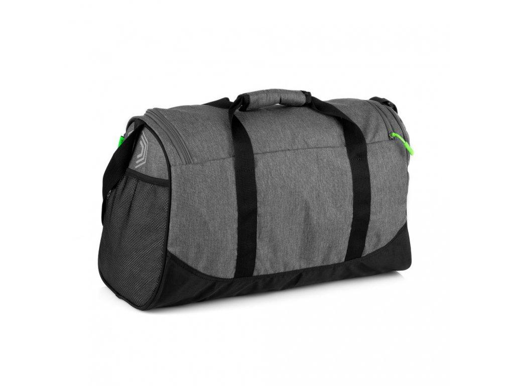 Spokey PIRX Sportovní taška šedá 35 l