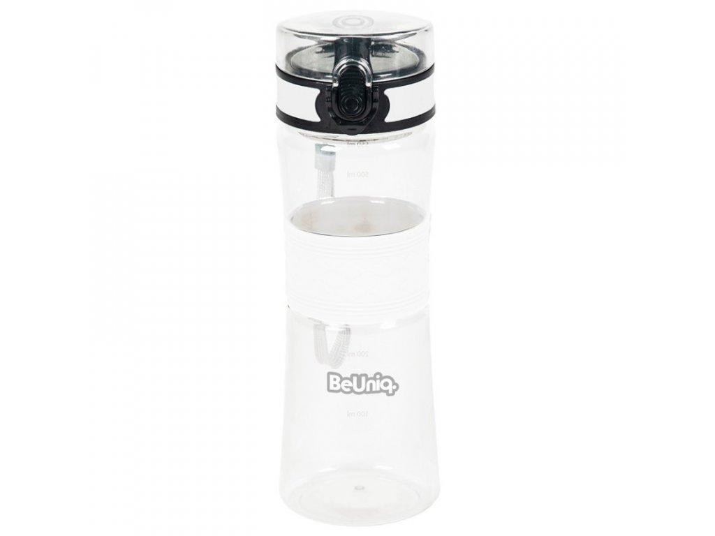 Láhev na vodu 550 ml, bílá