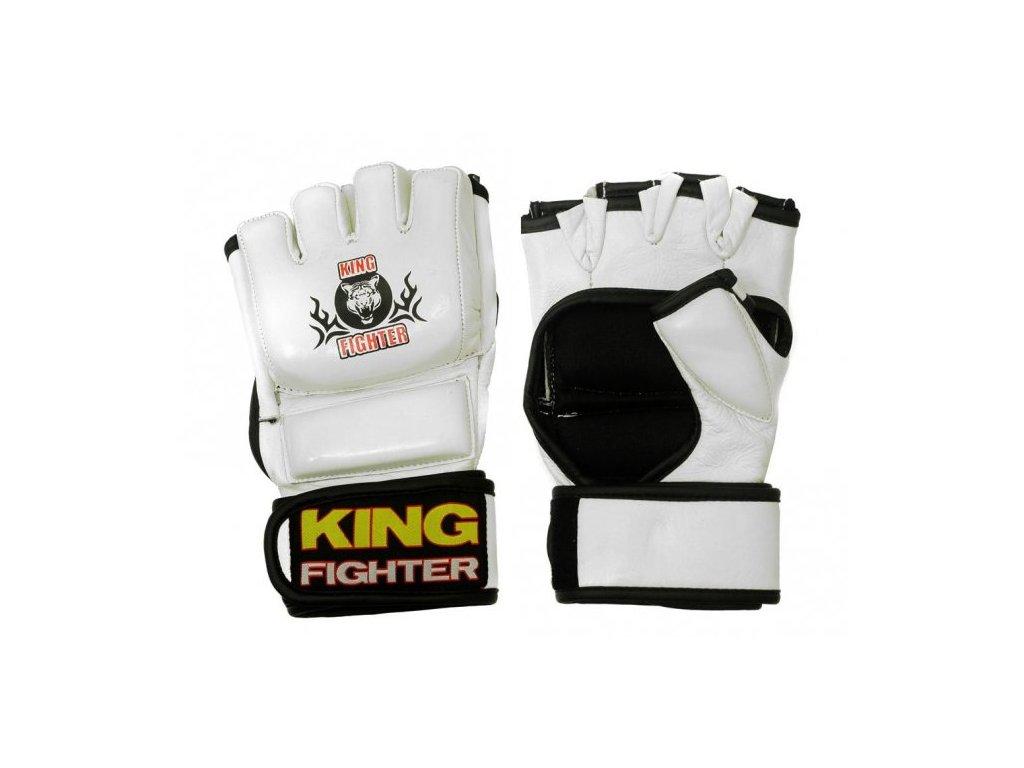 MMA rukavice Champion white
