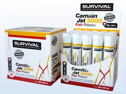 Survival, Carnitin Jet 3000 (25 ml)