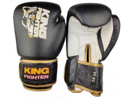 """Boxerské rukavice King Fighter """"GOLD"""""""