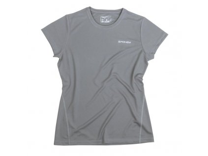 Spokey BECOOL 20 LADY Dámské funkční tričko šedé S