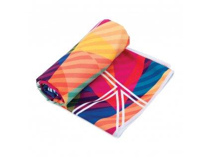 Spokey MALAGA Rychleschnoucí sportovní ručník 80x160cm