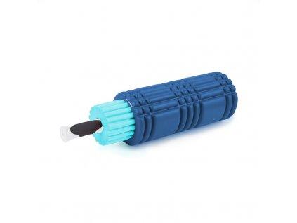 Spokey MIX ROLL fitness masážní válec 3v1, modrý