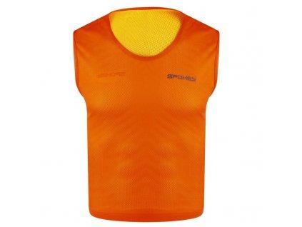 Spokey SHINY D-Vesta žlutá/oranžová oboustranná S