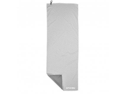Spokey COSMO Chladící rychleschnoucí ručník 31x84 cm, šedý v plastové tubě