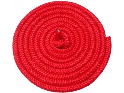 ACRA Gymnastické švihadlo 3m červené