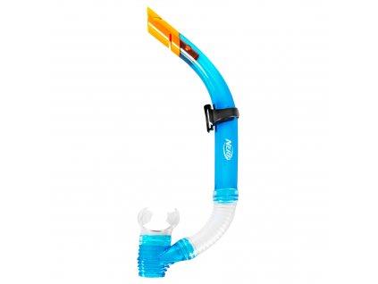 Spokey HASBRO JOURNAL Sada brýle+šnorchl, zn. NERF, modro-oranžová