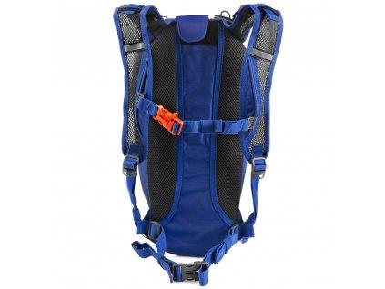 Spokey DEW Sportovní, cyklistický a běžecký batoh 15 l, oranžovo-modrý