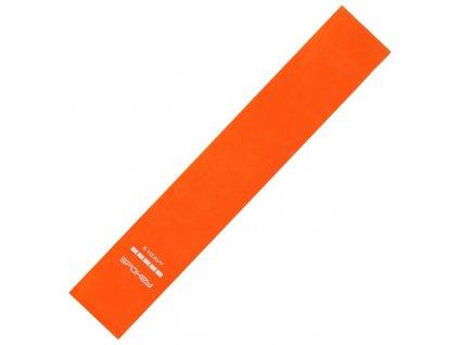 Spokey ARTIO II fitness guma oranžová, x-heavy