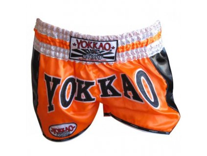 Muay thai trenky ORANGE