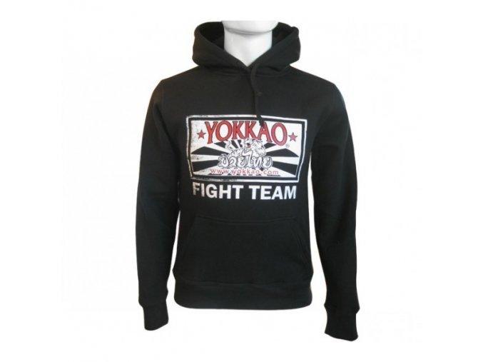 Mikina Yokkao FIGHT TEAM (s kapucí)
