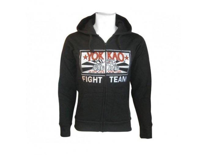Mikina Yokkao FIGHT TEAM (na zip)