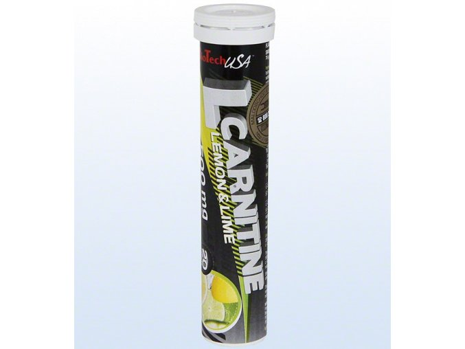 L-Carnitine 500 (20 tab) - citron