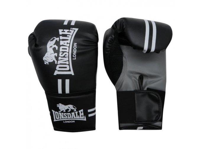 Dětské boxerské rukavice Lonsdale černé