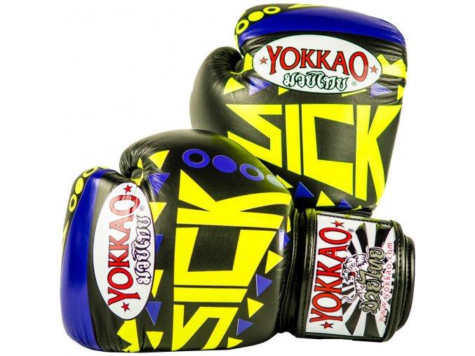 Boxerské rukavice  Yokkao Sick Violet