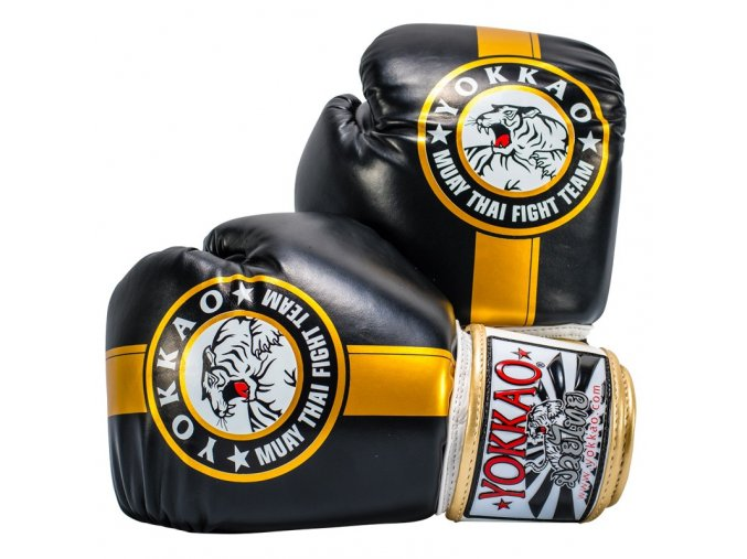 Boxerské rukavice  Yokkao Fight team GOLD