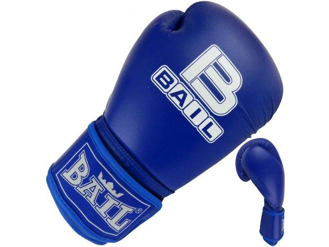Boxerské rukavice amater modré