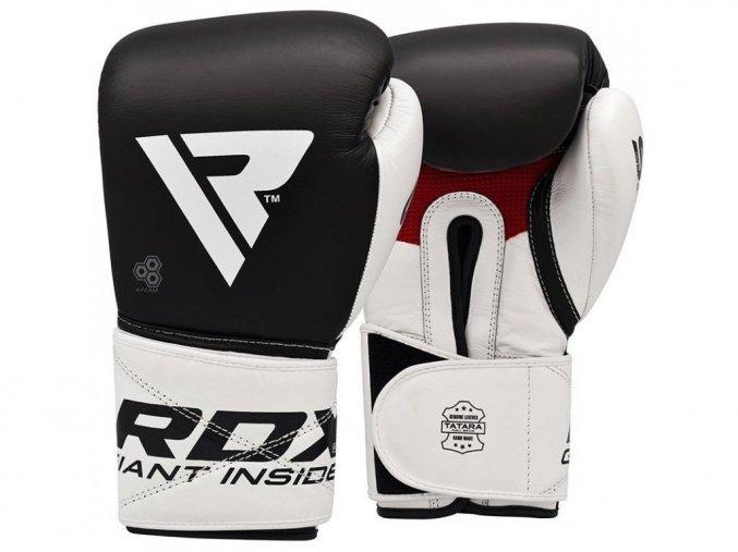Boxerské rukavice S5 (černá/bílá)