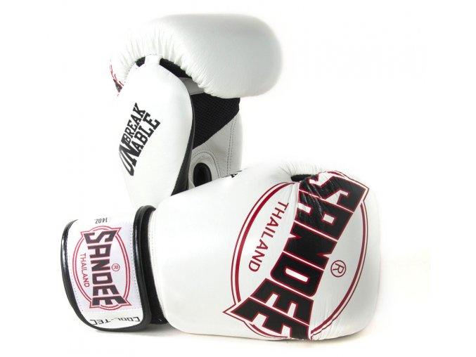 Boxerské rukavice Cool-Tec Sandee bílá/černá/červená