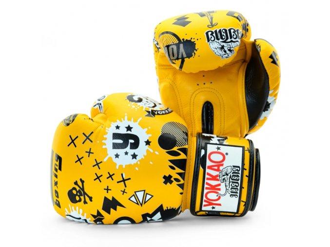 Boxerské rukavice Yokkao Rock'n'Roll