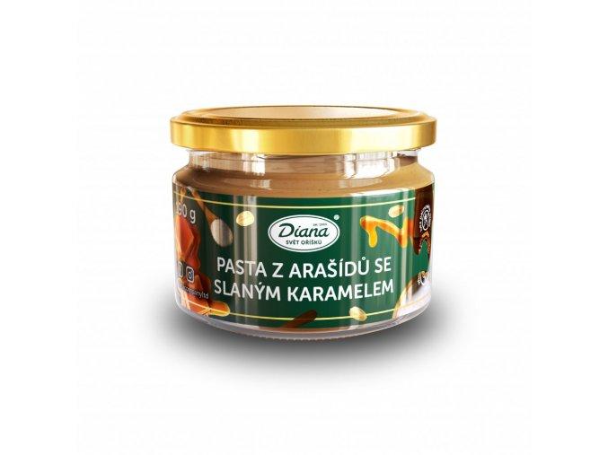 Pasta z arašídů se slaným karamelem (250g)