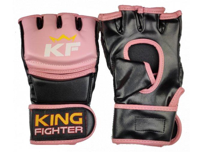 MMA rukavice Training (růžové)