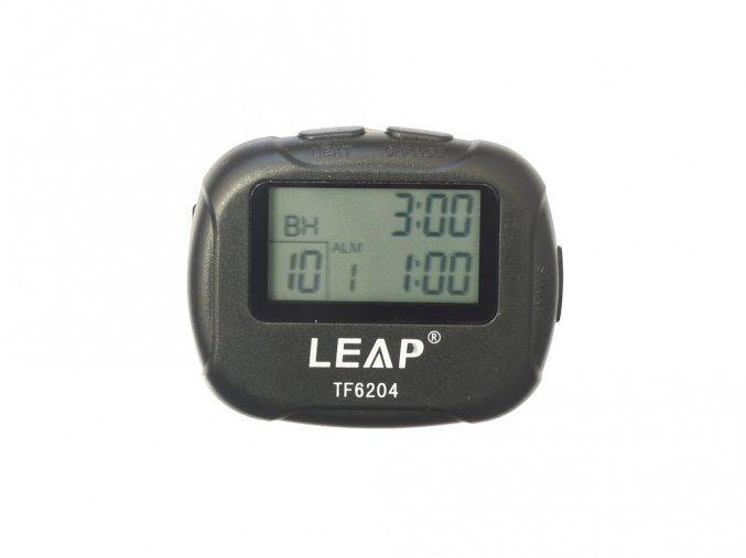 intervalový časovač černý