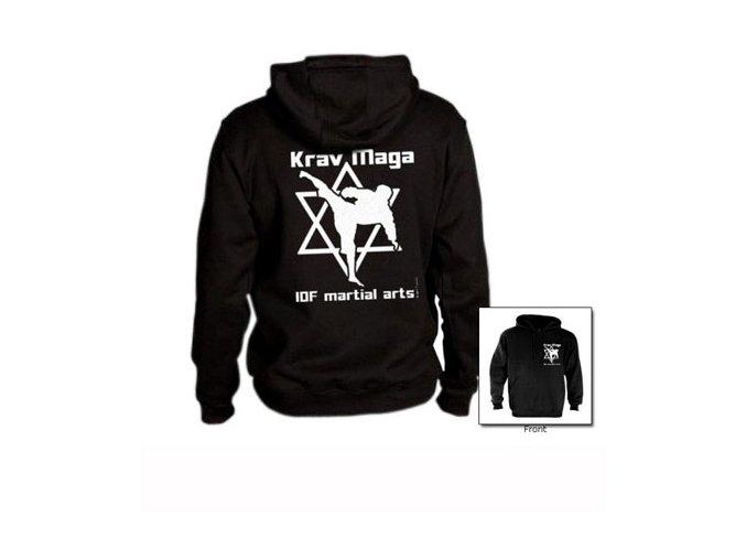 Mikina Krav Maga Hebrew star